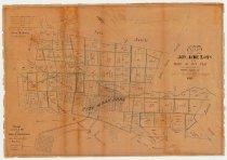 Image of Map of 500 Acre Lots of the Pueblo de San Jose, 1865