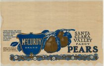 Image of McCurdy Brand Pears box tissue