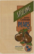 Image of Stelling Fancy California Pears box tissue
