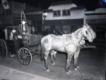 Image of Horse-drawn carriage, Valley Bowl