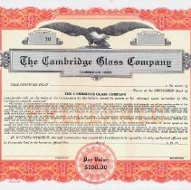 Image of 2014.72.5 - Certificate, Stock