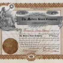 Image of 2015.3.222 - Certificate, Stock