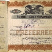 Image of 2015.3.226 - Certificate, Stock