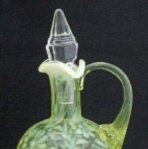 Image of L. G. Wright Glass Company No. 94-2 Fern oval cruet
