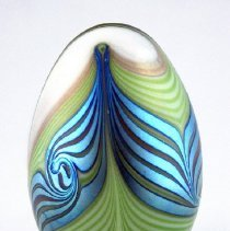 Image of Orient and Flume Art Glass paperweight