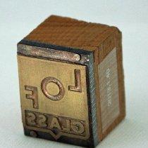 Image of 2013.1.40 - Block, Printing