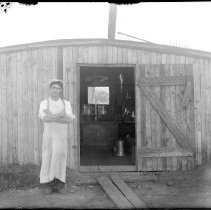 Image of FW_00489 - Cook Shed for Concrete Crew, 1930