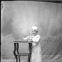 Image of FW_02948 - Child in Costume, ca. 1900-1930