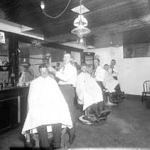 Image of FW_02572 - Barber Shop, ca. 1900-1930