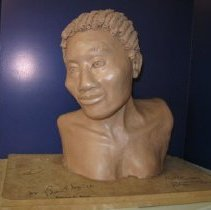 Image of Female Clay Sculpture   - Bust
