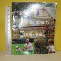 Image of Franklin County, 1795 - 1995, Bicentennial Booklet     - The State Journal