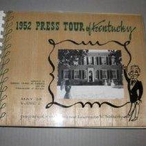 Image of 1952 Press Tour of Kentucky - Book