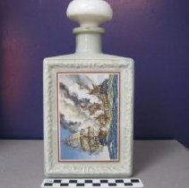 Image of Bourbon Decanter, Americana Collection, Battle of the Constitution & Guerriere - Bottle