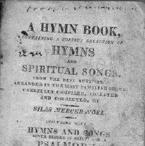Image of A Hymn Book - Noel, Silas Mercer