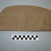 Image of Khaki overseas or service cap - Cap, Service