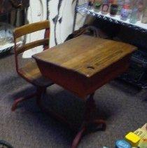 Image of Murray Street School student desk - Desk, School