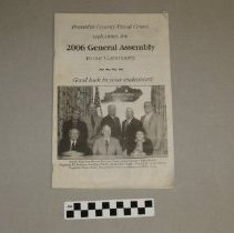Image of KY General Assembly Booklet - Booklet