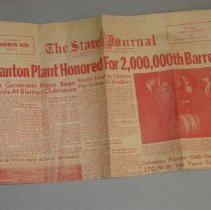Image of Bourbon Red Sate Journal - Newspaper