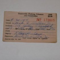 Image of Fishing License - License, Sporting