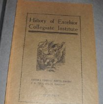 Image of History of Excelsior Collegiate Institute, Jett, KY  1879-1915 - Chaffee, Spicie Belle South; Lindsay, Vachel