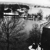 Image of 1937 Flood: Benson Creek and Bellepoint - 2003.3.2