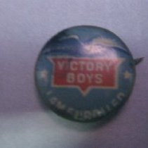 Image of Victory Button - Button, Political