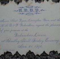 Image of Picknickers Dance Invitation - Invitation