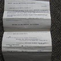 Image of Lee Penn Mortgage Papers - Mortgage