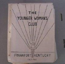 Image of Frankfort Younger Woman's Club Scrapbook - Scrapbook