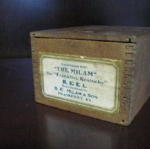 Image of Milam Reel Box - Box, Storage