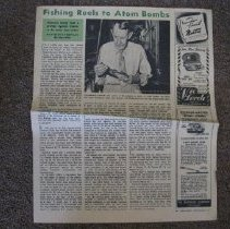 Image of Clarence Gayle Article - Newspaper