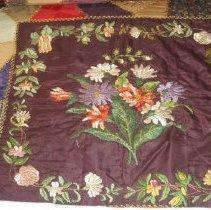 Image of crazy quilt - Quilt, Bed