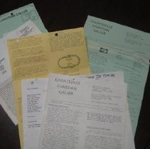 Image of Choateville Christian Church Bulletins - Bulletin
