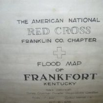 Image of Red Cross flood map of Frankfort - Map