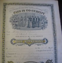Image of Robinson/Canada Marriage Certificate - Certificate, Marriage