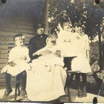 Image of Oether Children with Nanny - 2003.74.24
