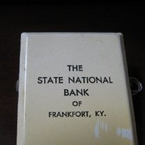 Image of State National Bank Clip - Novelty, Promotional