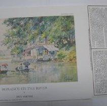 Image of Romance on the River - Print, Photomechanical