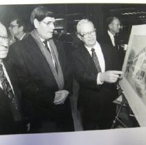 Image of City Leaders and the New St. Clair Parking Garage - 2005.107.20