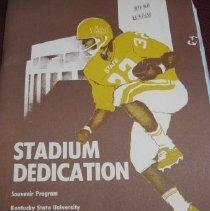 Image of KSU Stadium Dedication Program - Program