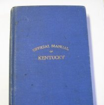 Image of Official Manual of Kentucky - Day, M. B. R.