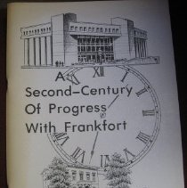 Image of A Second-Century of Progress with Frankfort - Book