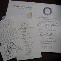Image of Beshear Inaugural Invitation Packet - Invitation