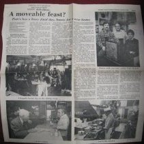 Image of Final Days of Putt's Restaurant State Journal Article - Clipping, Newspaper