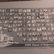 Image of Ky House of Repsentatives in 1988 Poster - Poster, Political