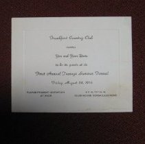 Image of Country Club Teenage Formal Dance Invitation - Invitation