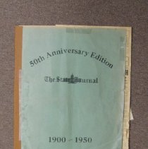 Image of State Journal 50th anniversary edition, bound - Newspaper