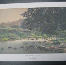 Image of Summer Reflections - Print, Photomechanical