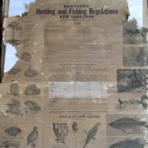 Image of Hunting & Fishing Poster - Poster, Instructional