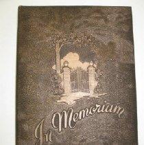 Image of Memorial Book - Book
